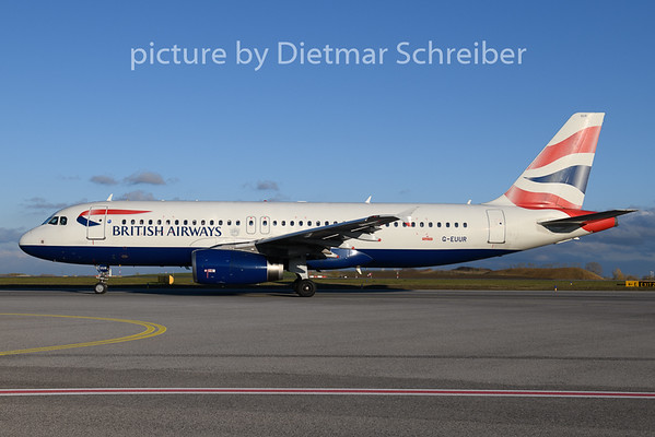 2019-11-07 G-EUUR Airbus A320 British Airways