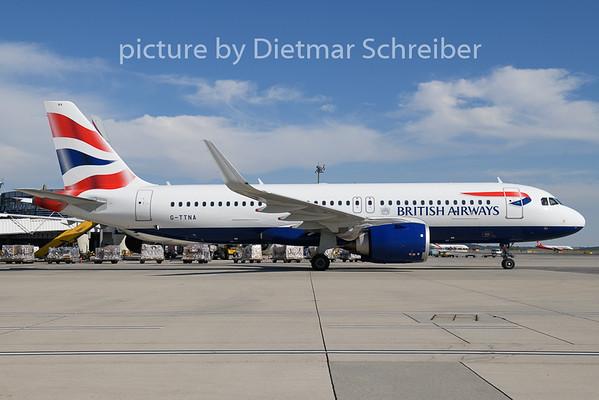 2018-08-27 G-TTNA Airbus A320neo British Airways