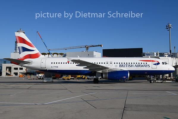 2019-12-11 G-TTOE AIrbus A320 British Airways