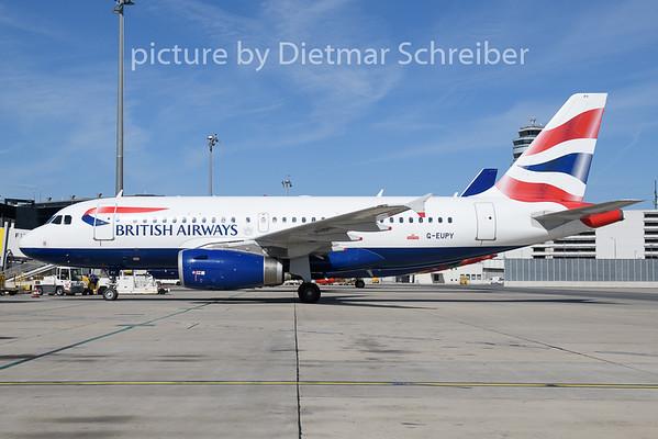 2020-08-28 G-EUPY Airbus a319 British Airways