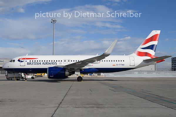 2020-02-10 G-TTNG Airbus A320neo British Airways