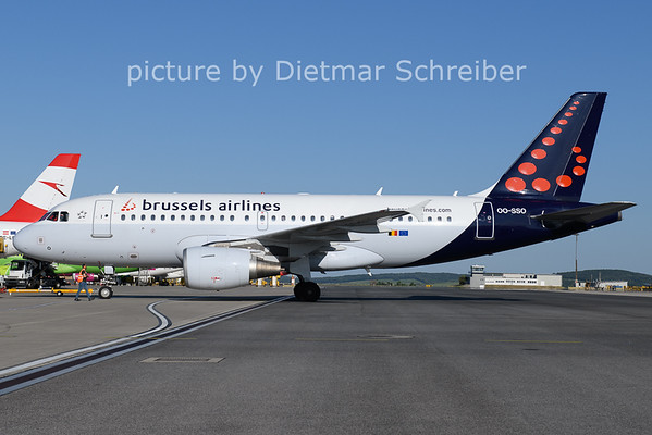2021-06-13 OO-SSO AIrbus A319 Brussels Airlines
