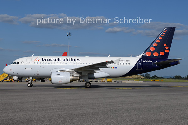 2021-08-25 OO-SSW Airbus A319 Brussels AIrlines