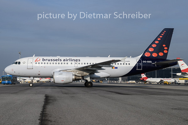 2019-02-21 OO-SSG Airbus A319 Brussels Airlines