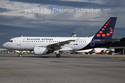 2019-08-13 OO-SSO Airbus A319 Brussels Airlines