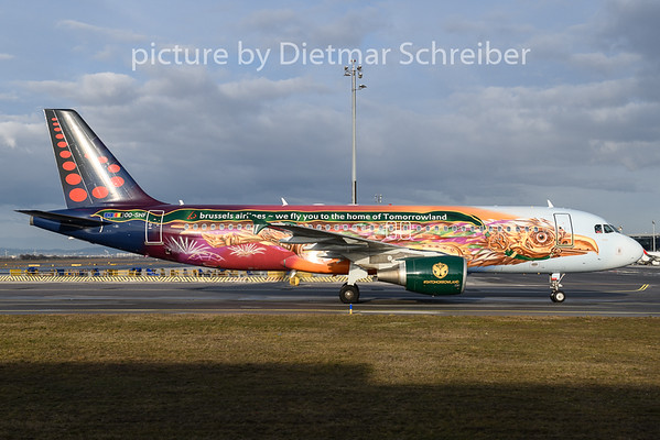 2020-02-12 OO-SNF Airbus A320 Brussels Airlines