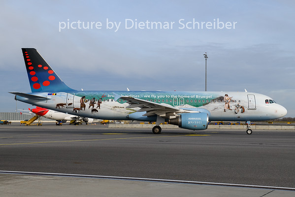 2020-02-06 OO-SNE Airbus A320 Brussels AIrlines