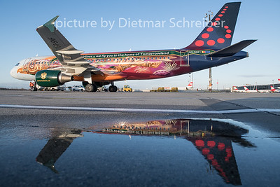 2019-12-10 OO-SNF Airbus A320 Brussels Airlines