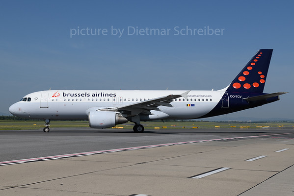 2018-05-31 OO-TCV Airbus A320 Brussels Airlines