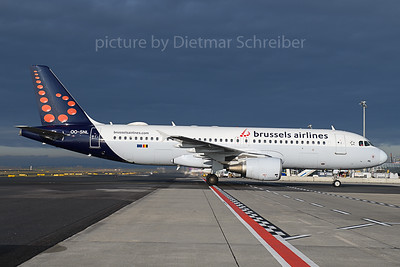2019-11-14 OO-SNL Airbus A320 Brussels Airlines