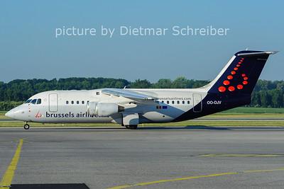 2011-05-24 OO-DJV Bae146 Brussels AIrlines