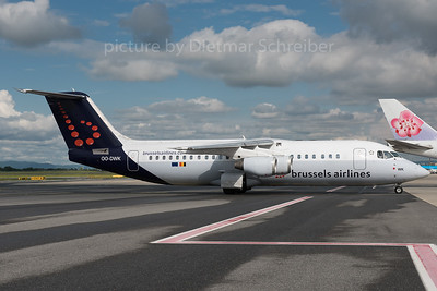 2016-06-02 OO-DWK Bae 146 Brussels Airlines