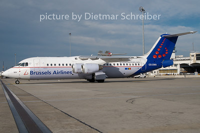 2010-10-31 OO-DWA BAe146 Brussels Airlines
