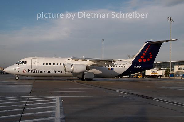 2008-12-01 OO-DWE Bae146 Brussels Airlines
