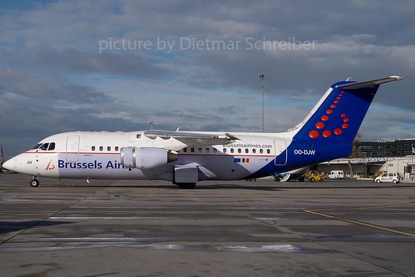 2007-11-08 OO-DJW Bae 146 Brussels AIrlines