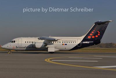 2011-11-13 OO-DJZ BAe146 Brussels Airlines