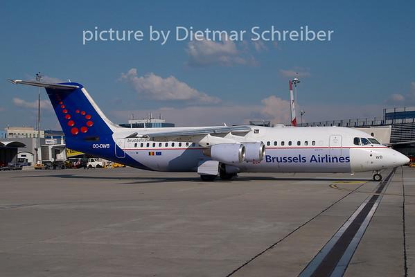 2008-07-27 OO-DWB Bae146 Brusseös Airlines