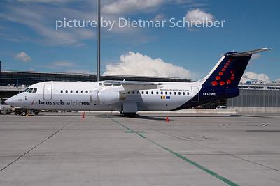 2009-07-09 OO-DWE BAe146 Brussels Airlines