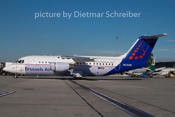 2008-10-07 OO-DJW BAe146 Brussels Airlines