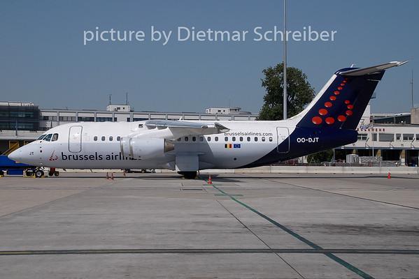 2009-07-23 OO-DJT BAe146 Brussels Airlines