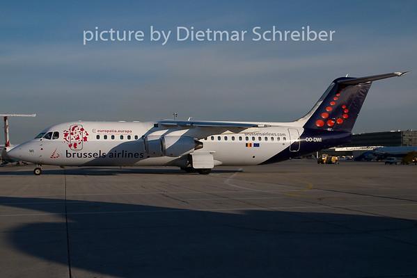 2007-07-27 OO-DWI Bae 146 Brussels Airlines