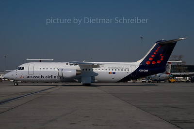 2007-04-02 OO-DWI Bae 146 Brussels Airlines