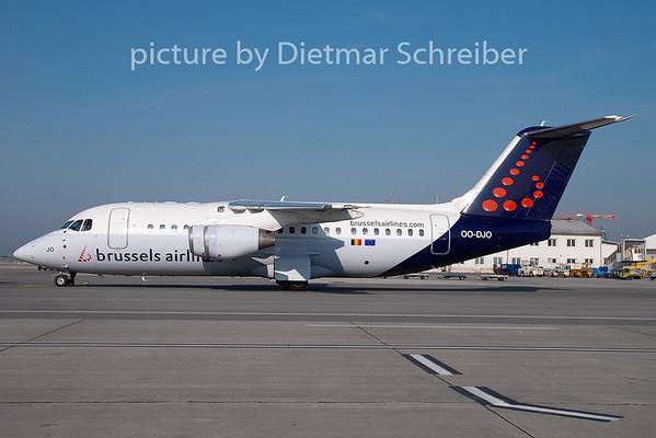 2008-09-29 OO-DJO Bae146 Brussels Airlines