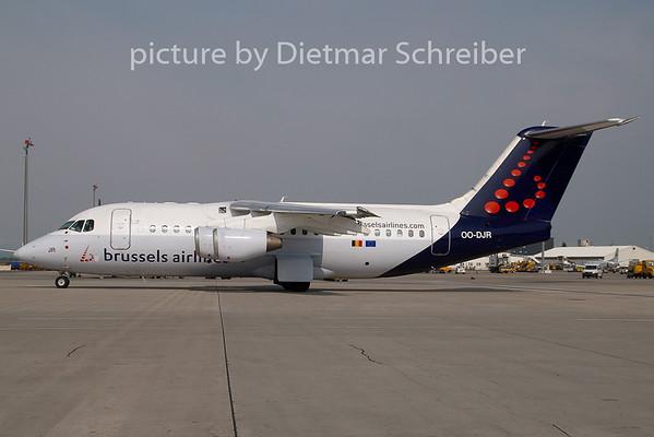 2009-04-30 OO-DJR BAe146 Brussels Airlines