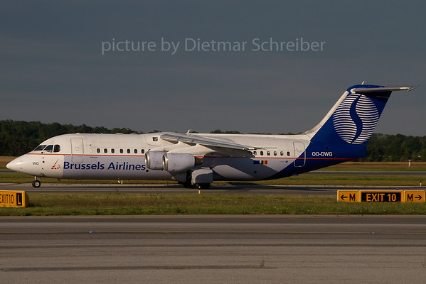 2007-06-22 OO-DWG Bae146 Brussels Airlines