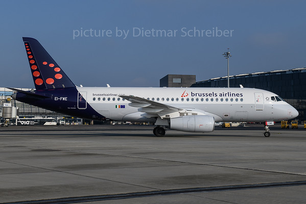 2018-03-25 EI-FWE Sukhoi Superjet Brussels AIrlines