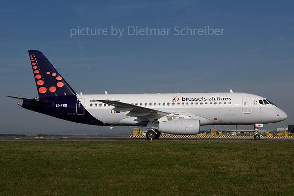 2017-03-29 EI-FWD Sukhoi Superjet Brussels Airlines