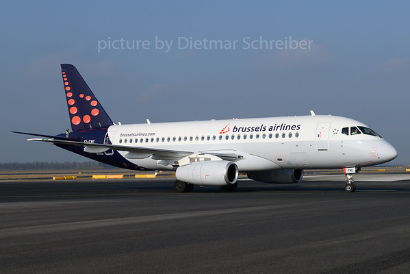 2018-03-25 EI-FWE Sukhoi Superjet Brussels AIrlines