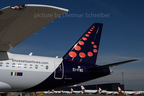 2017-04-25 EI-FWD Sukhoi Superjet Brussels Airlines