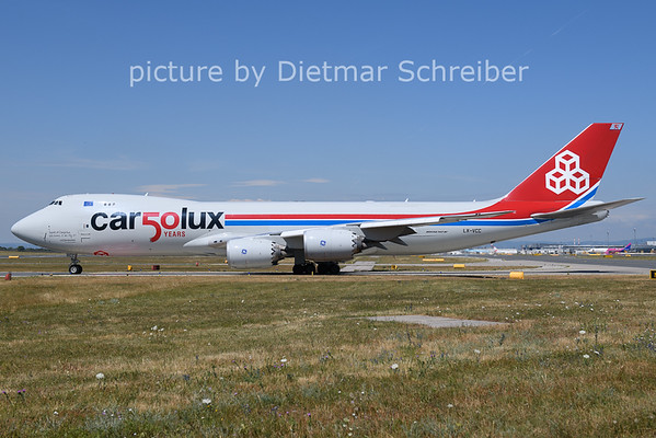 2021-07-16 LX-VCC Boeing 747-8 Cargolux