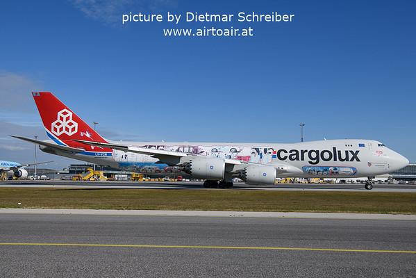 2021-10-15 LX-VCM Boeing 747-8 Cargolux