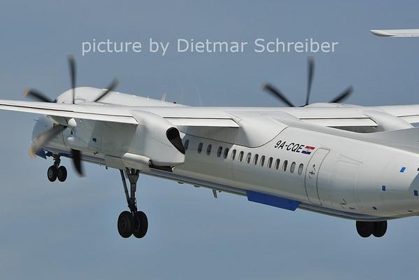 2011-08-05 9A-CQE Dash8-400 Croatia AIrlines