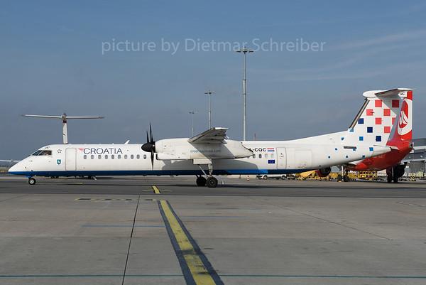 2016-10-14 9A-CQC Dash 8-400 Croatia AIrlines