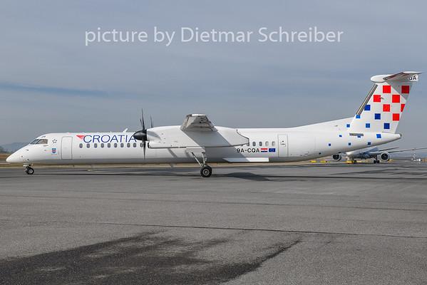 2019-03-17 9A-CQA Dash 8-400 Croatia Airlines