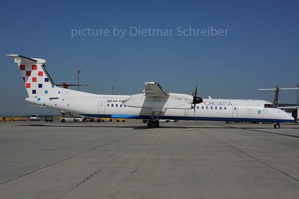 2013-07-09 9A-CQC Dash 8-400 Croatia AIrlines
