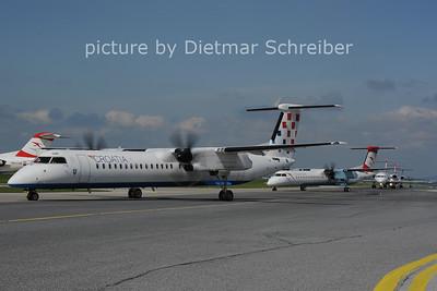 2013-05-05 9A-CQB Dash8-400 Croatia AIrlines