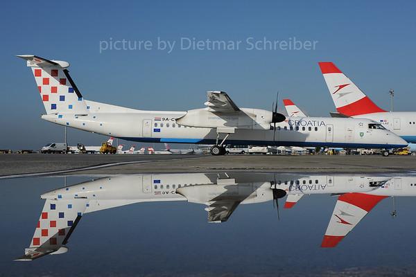 2013-10-31 9A-CQB Dash 8-400 Croatia Airlines