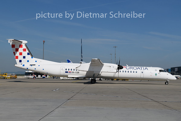 2019-05-24 9A-CQB Dash 8-400 Croatia AIrlines