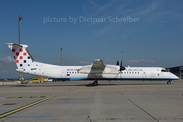 2016-07-18 9A-CQC Dash 8-400 Croatia AIrlines