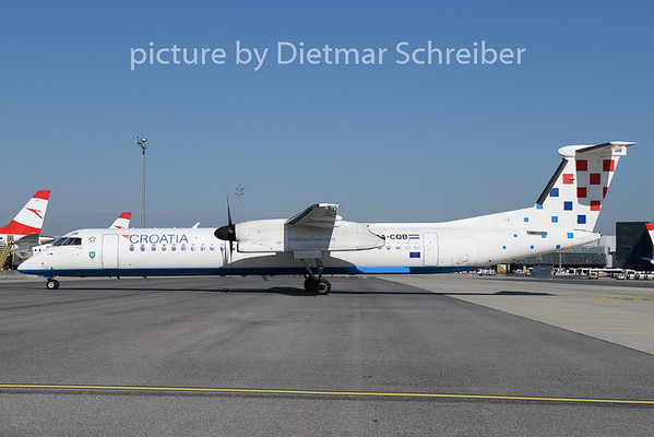 2018-08-13 9A-CQB Dash8-400 Croatia Airlines