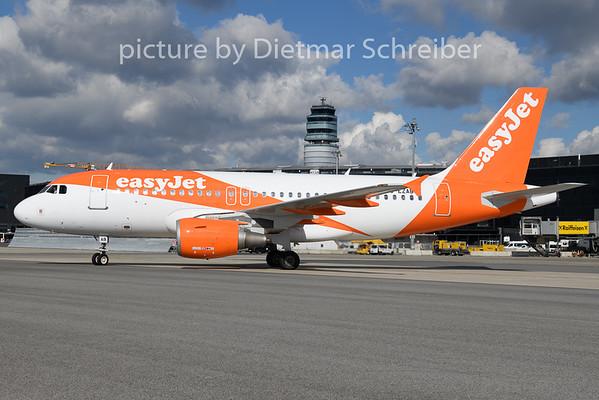 2020-02-27 G-EZAB Airbus A319 Easyjet
