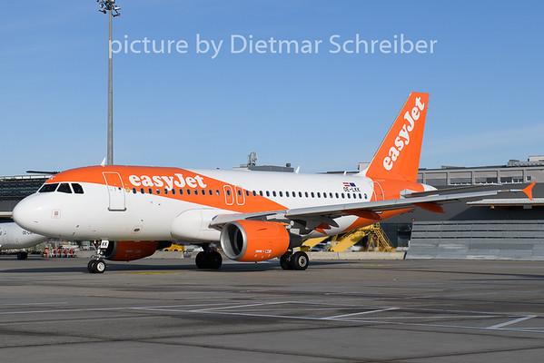 2020-02-13 OE-LKK Airbus A319 Easyjet Europe
