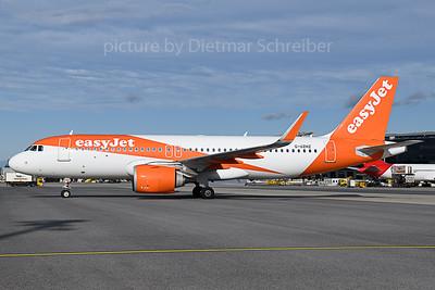 2019-10-10 G-UZHZ Airbus A320neo Easyjet