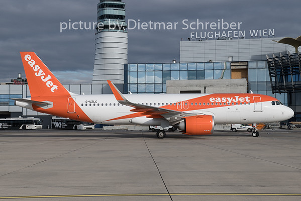 2019-12-27 G-UZLC Airbus A320neu Easyjet