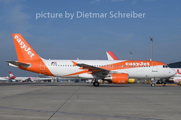 2020-10-02 OE-IJL AIrbus A320 Easyjet Europe