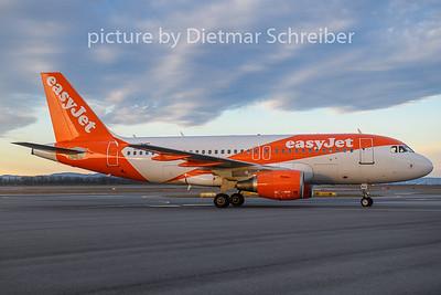 2020-02-25 OE-LKC Airbus A319 Easyjet Europe